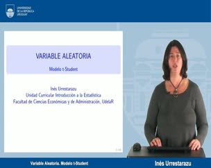Variable Aleatoria Modelo t-Student