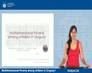 Multidimensional Poverty among children in Uruguay I - Estudiantes