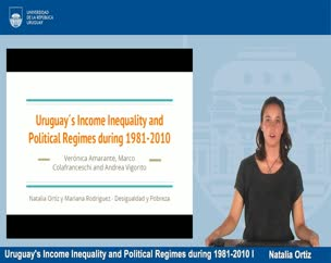 Uruguay's Income Inequality and Political Regimes during 1981-2010 I - Estudiantes