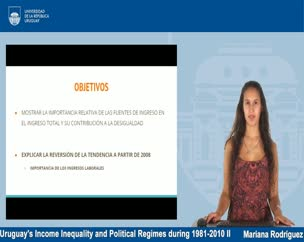 Uruguay's Income Inequality and Political Regimes during 1981-2010 II - Estudiantes