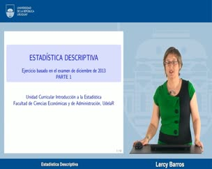 Ejercicio Estadística Descriptiva